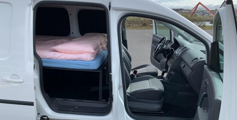 Camper Caddy Maxi AT - interior