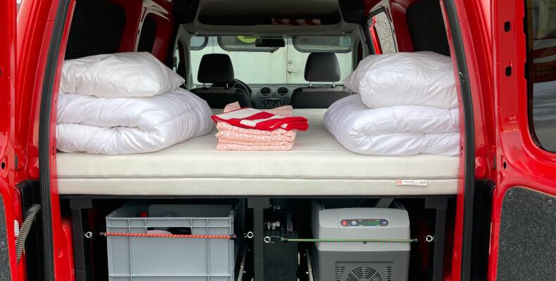 Camper Caddy Maxi - interior